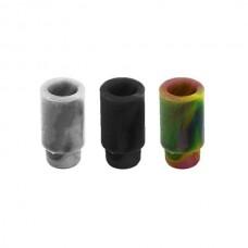Drip Tip usa e getta  attacco 510 silicone (100 PZ) BLACK