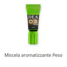 3 Miscela aromatizzante Peso 10 ml