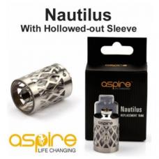 Aspire Nautilus tank di acciaio e pyrex