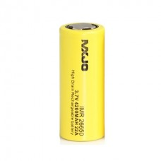 MXJO IMR26650F 4200mAh 22A 3.7V Flat top battery