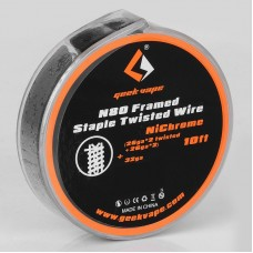 GeekVape NI80 Framed Staple Twisted Wire ( 26GAx2 Twisted+26GAx2)+32GA 3M