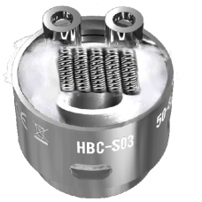 GeekVape Eagle Coil Staggered Fused Clapton 2pz - HBC-S03