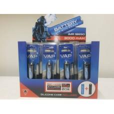 PACK BATTERIE 18650 3000 mAh 30A - Energy Vap Confezione 20 pz